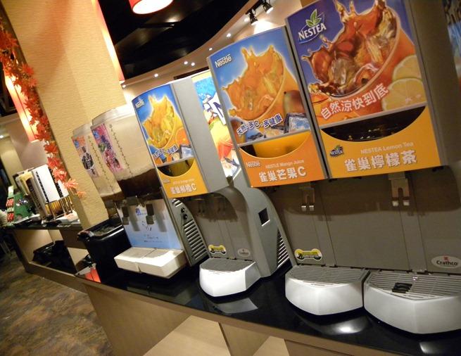 13冷飲機台