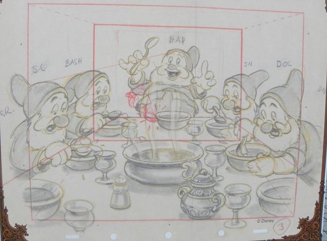 18圖版 白雪公主 喝湯的小矮人