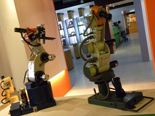 276台灣機器人館 大同 機械手臂