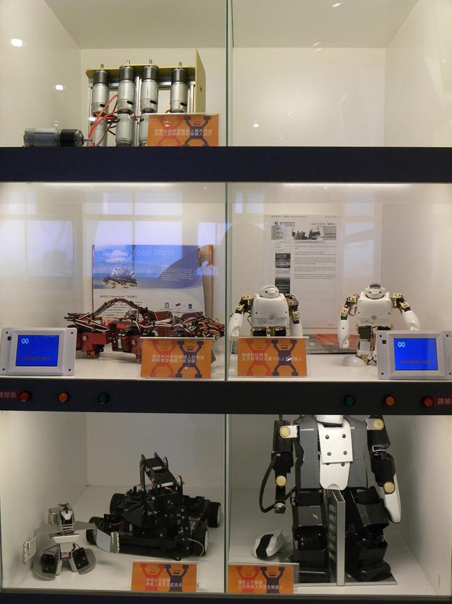 282展示櫃 科技公司成果