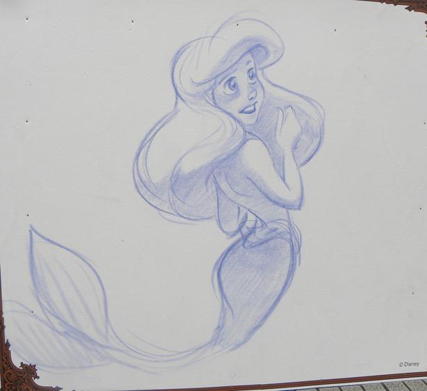 24圖版 小美人魚 艾莉兒