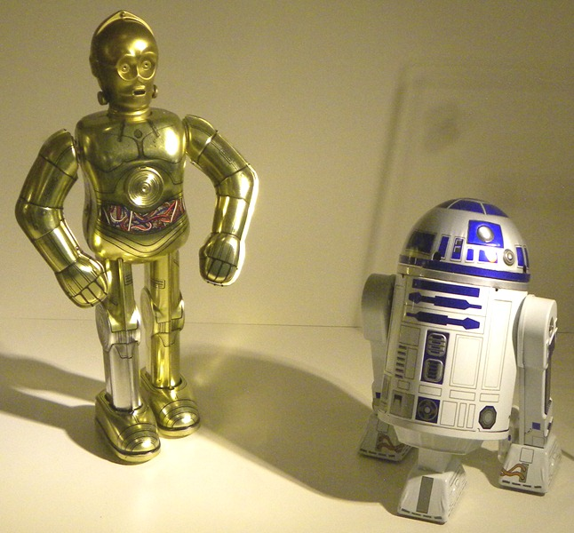 117電影機器人C-3PO.R2-D2