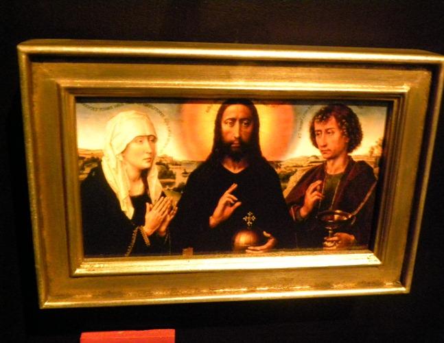 035布拉克家族三折屏風祭壇畫中幅