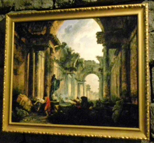 06羅浮大長廊廢墟的想像景致
