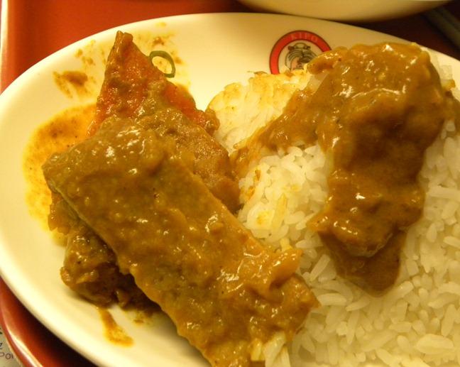 18咖哩豬扒飯